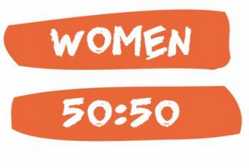 Women 50:50